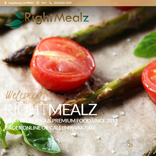 Right Mealz testimonial