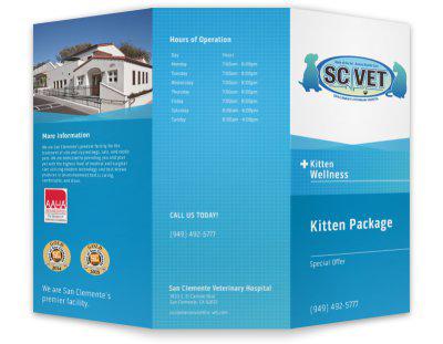 SCVET borchure by Web & Vincent